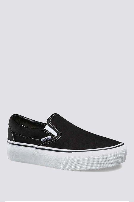 VANS Slip-On Platform - BLACK