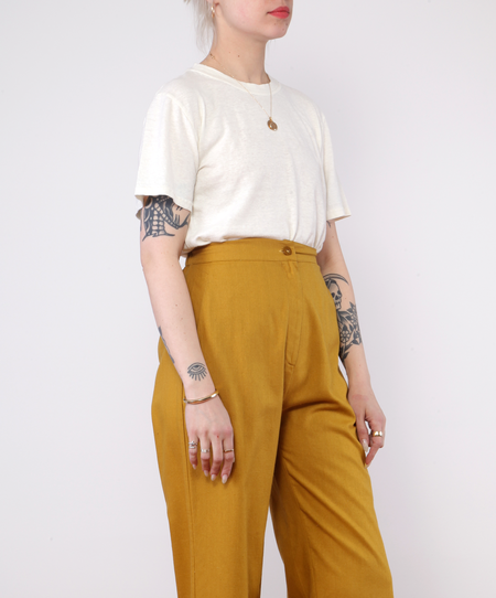Unisex Jungmaven Jung Tee - WASHED WHITE