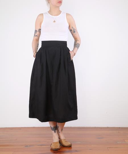 Micaela Greg Ellis Pleated Skirt - Black