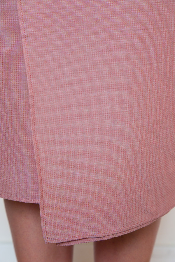 rodebjer square airy silk skirt