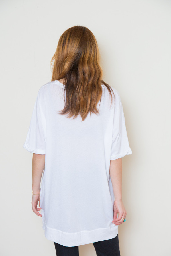 stateside royal supima oversized tee
