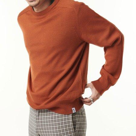 McIntyre Colin Merino Crew Neck Sweater - Auburn