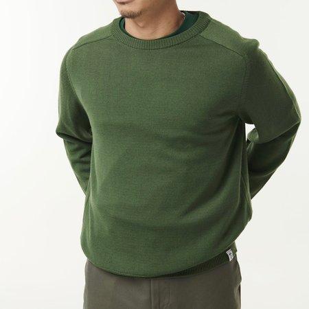 McIntyre Colin Merino Crew Neck Sweater - Green