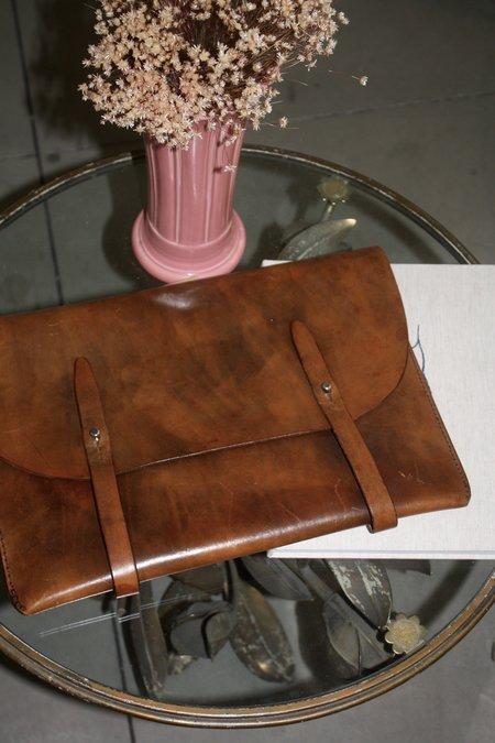Unisex A.B.K. Hand Stitched Laptop Case