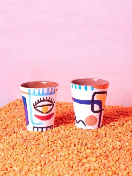LRNCE Pair of Cups - multi