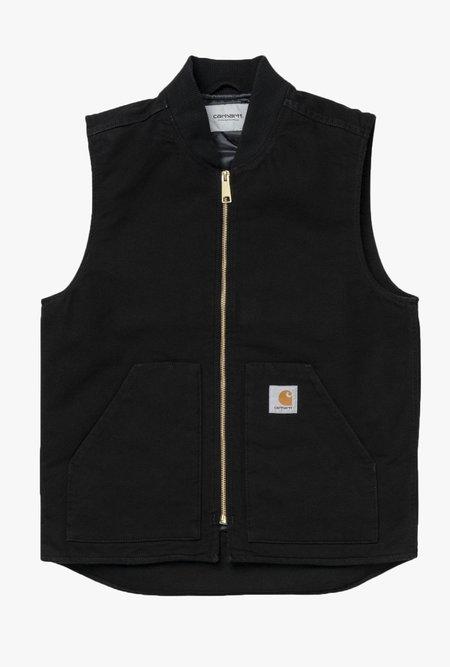 CARHARTT WIP Classic Vest - Black Rinsed
