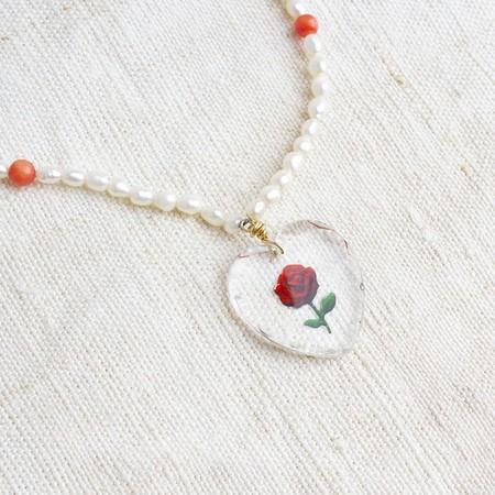 Coup de Foudre Collection Vintage Rose Charm