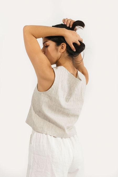 Two Fold Clothing Cotton/Linen Elspeth Tank