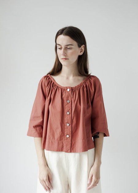 Atelier Delphine Millie Top - Brick