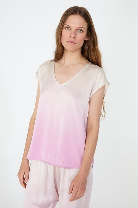 Raquel Allegra CHARMEUSE PERFECT SHELL TOP - ORCHID