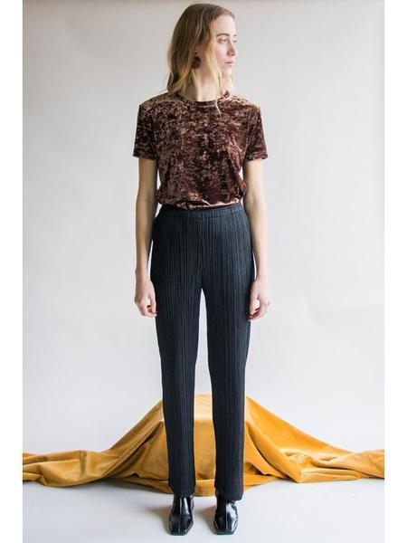 Issey Miyake Straight Trouser - Black