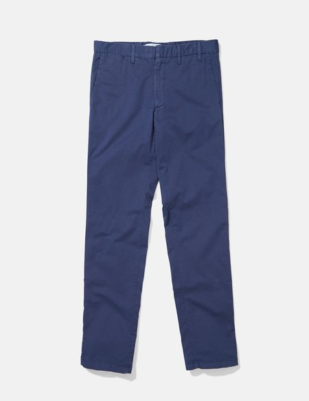 Norse Projects Aros Light Twill Slim Chino - Navy Blue
