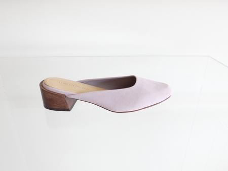 Mari Giudicelli Leblon Mule - Lavender Suede