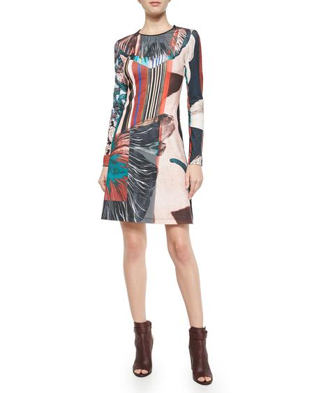 Clover Canyon matte jersey dress