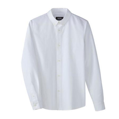 A.P.C. Button-down Shirt - White