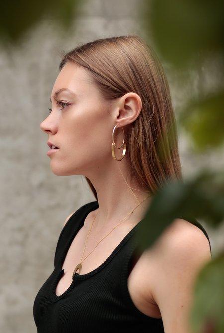 Ak Studio Parallel Dream Earrings - 14k Gold Filled