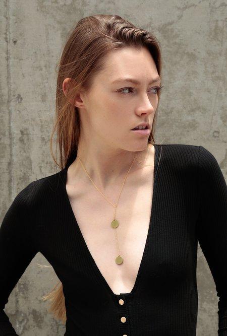 Ak Studio Physics Necklace - Brass