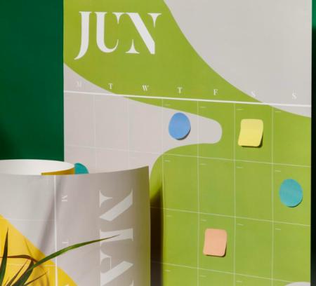 Poketo Perennial Wall Planner