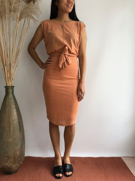 EVE GRAVEL AMORES DRESS - PAMPLEMOUSSE