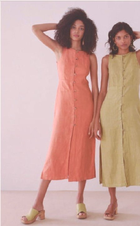 Paloma Wool Galatea Dress - Peach