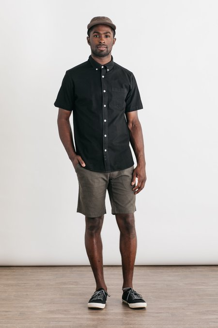 Bridge & Burn Jordan Button-Down - Black Chambray