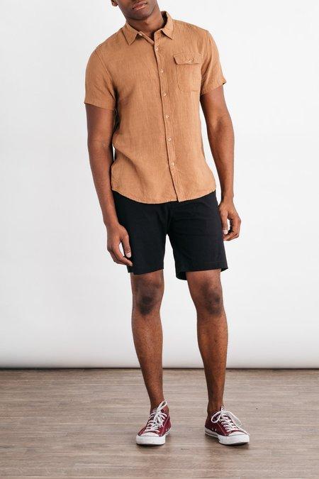 Bridge & Burn Marten Shirt - Tan Gingham