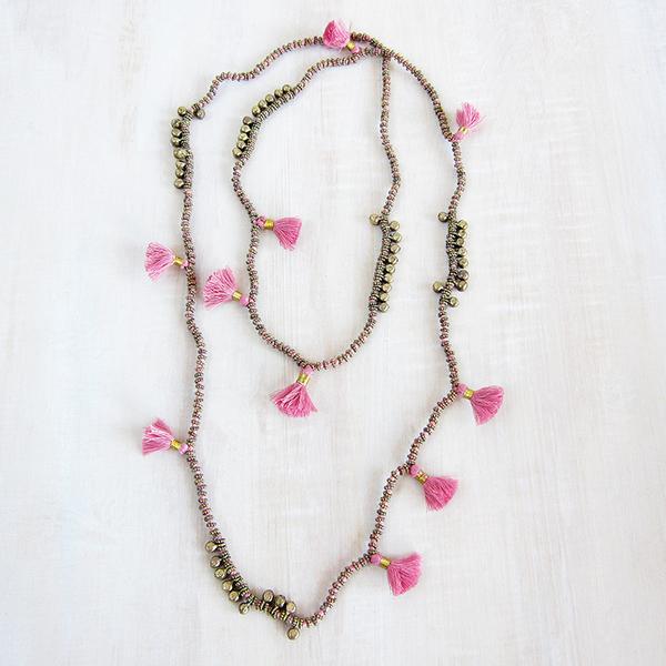 Bluma Project Farah necklace - rose