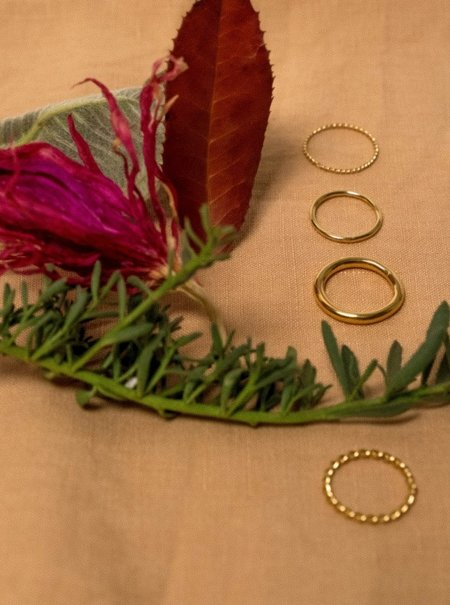 EMBR Jewellery 1MM half light ring