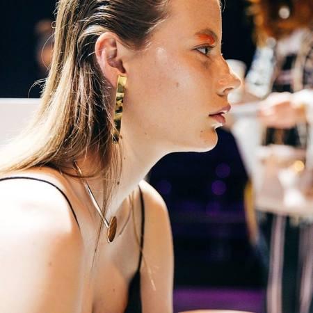 EMBR Jewellery surface earrings - sterling silver