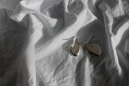 EMBR Jewellery waters edge earrings - sterling silver