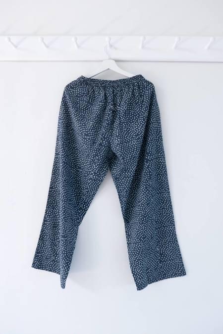 Karu Scrub Print Pants - Blue
