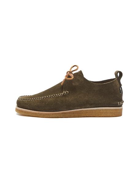 Yogi Footwear Lawson Suede Moccasin - Olive