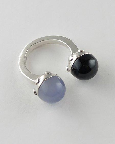 Lacar Ball Ring - Silver