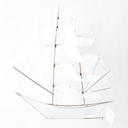 Haptic Lab Large Sailing Ship Kite - Ghost Ship