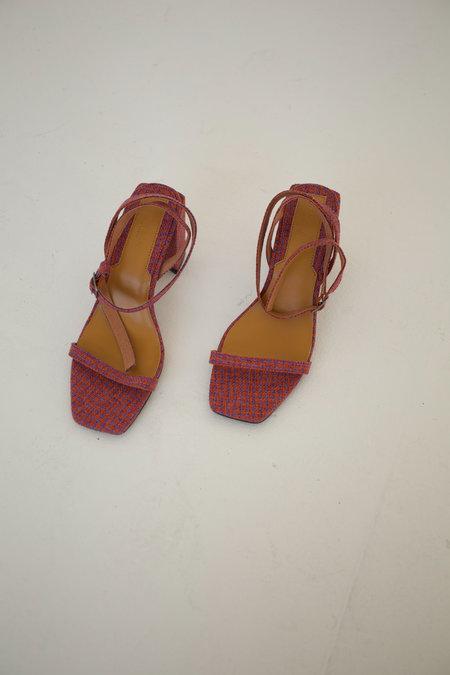 Jaggar Essential Sandal - Orange Houndstooth