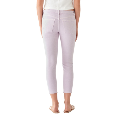 DL 1961 Florence Crop Mid Rise Instasculpt Skinny - Orchid