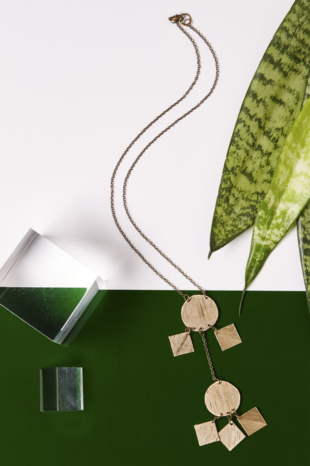 Geography 541 Doko Pendant Necklace