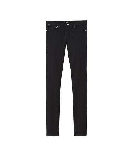 Unisex A.P.C. Petit New Standard Denim Jean - Black