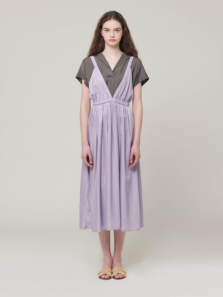 HIDDEN FOREST MARKET Fortuna Shining Dress - Violet
