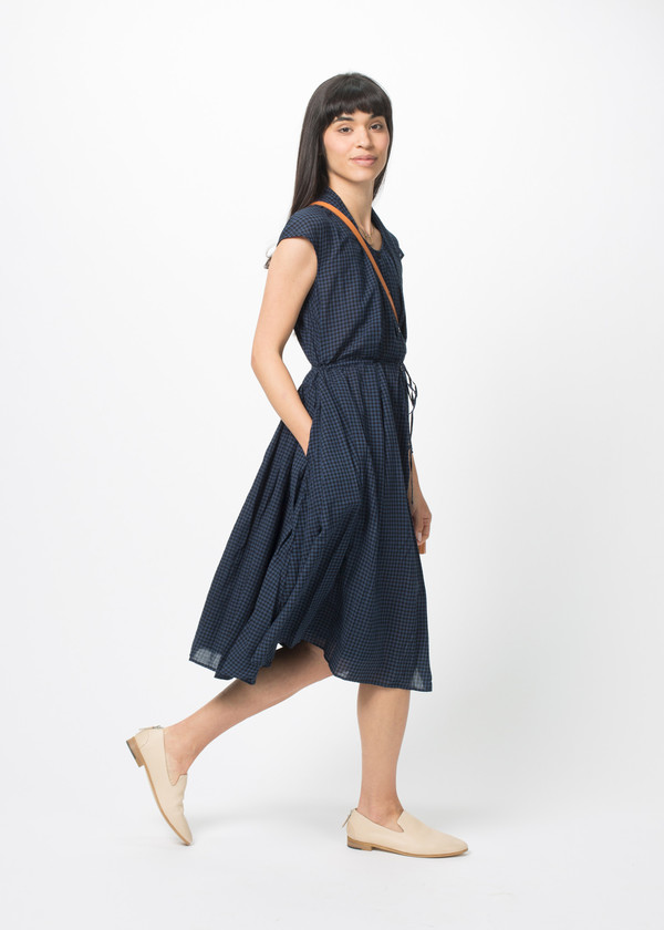Manuelle Guibal Check Dress