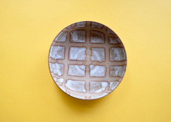 Red Planet Pottery: Gridded Bowl