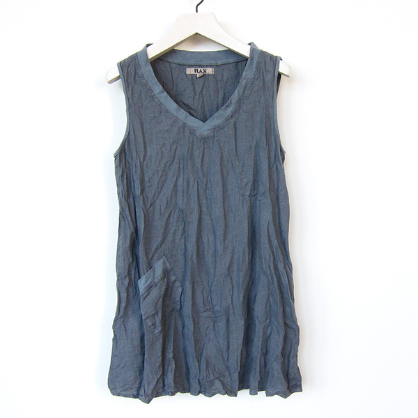 Flax Designs Live In Tunic - cement