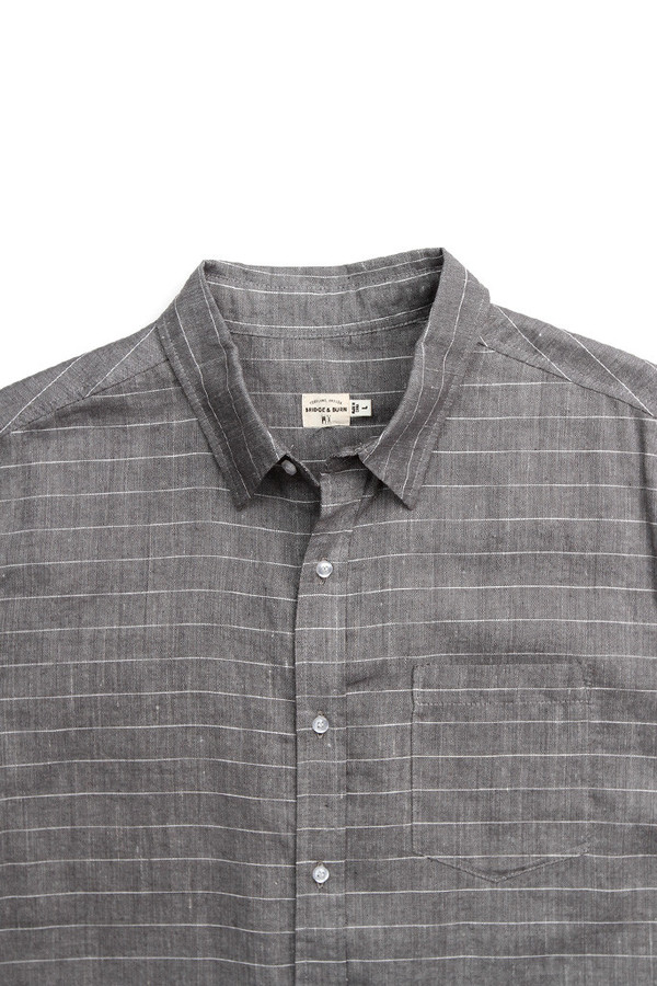 Men's Bridge & Burn Harbor Gray Stripe