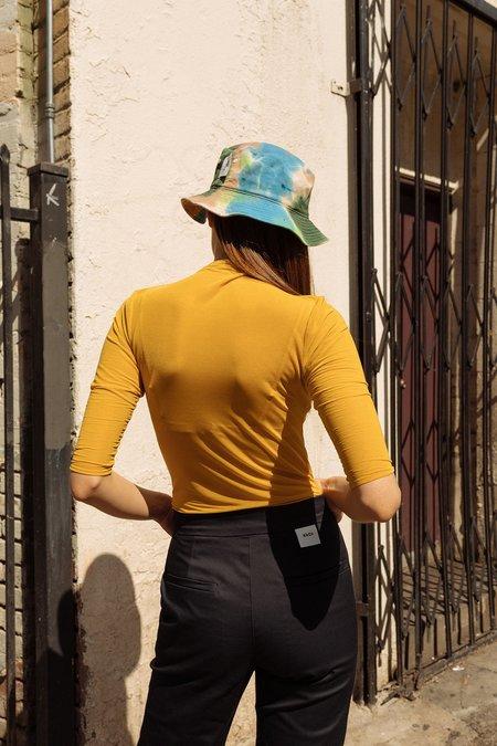 KkCo Studio Transparent Knit - Mustard
