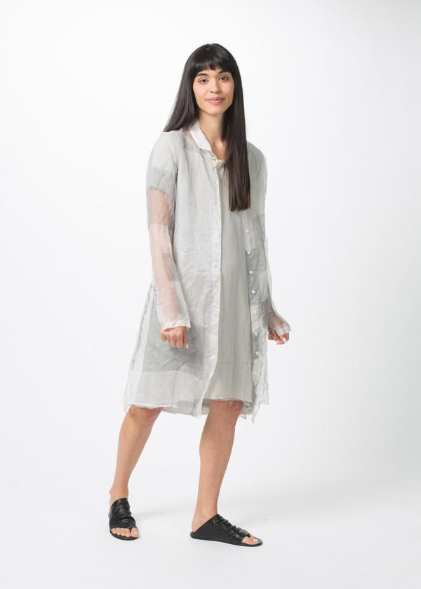 Rundholz Sheer Square Dress