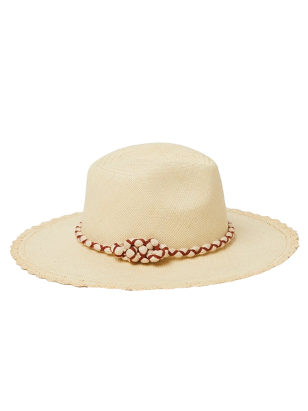 FREYA Foxtail Hat - Sand