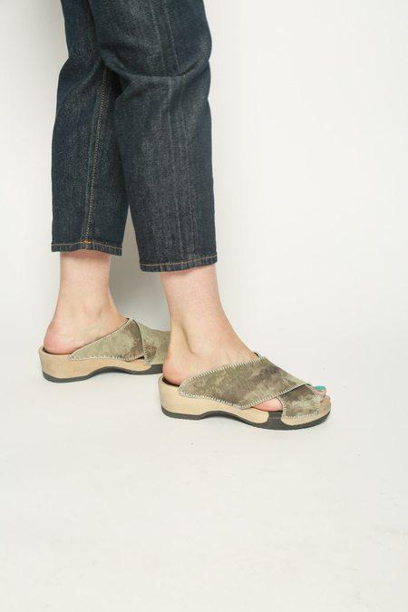 Magnafied Camo Sandal Clog - Pale Camo
