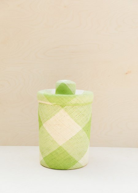 Territory Japa Basket Tall - Celery