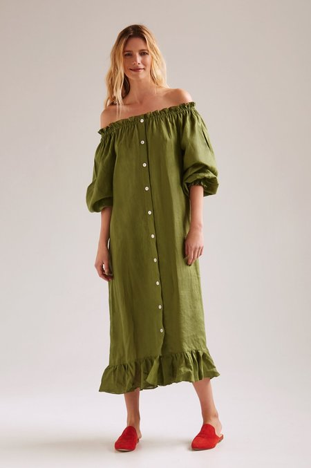 Sleeper Off The Shoulder Dress