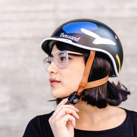 Poketo x Thousand Bike Helmet - Color Blocks